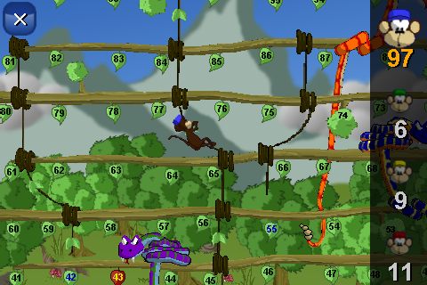 Screenshot Snake and ladders